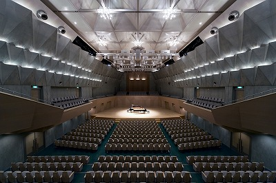 日立シビックセンター音楽ホール バナー