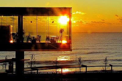 日立駅から太平洋を望む バナー